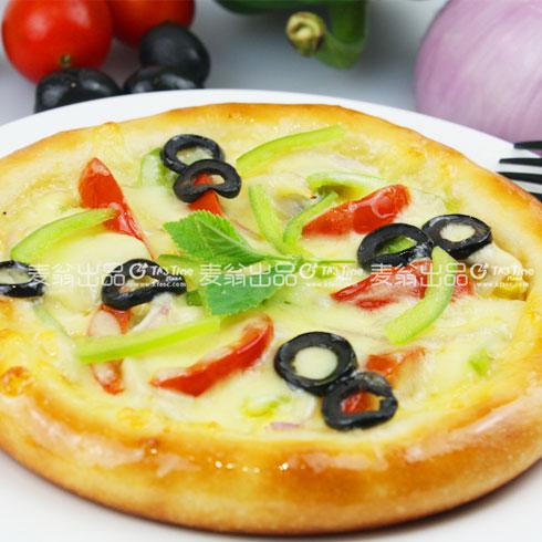 TA's Time 掌上披萨-蔬菜披萨