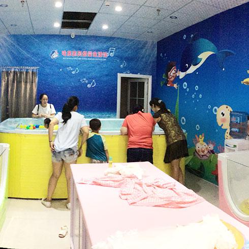 哈尼宝贝婴儿游泳馆-儿童海洋世界