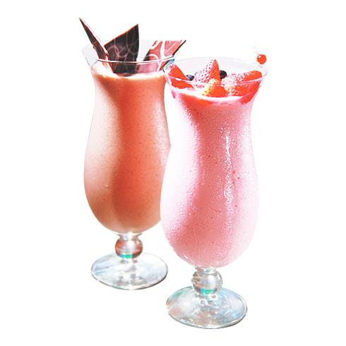 检茶官茶饮-草莓奶昔
