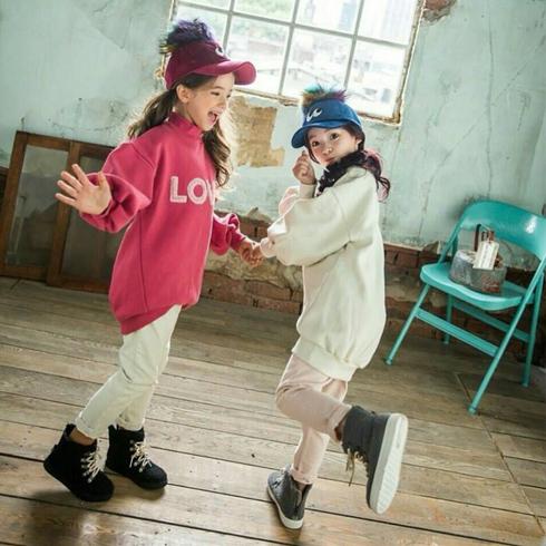 宝乐笛童装-高领卫衣