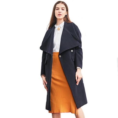 艾丽哲女装-秋冬方领外套