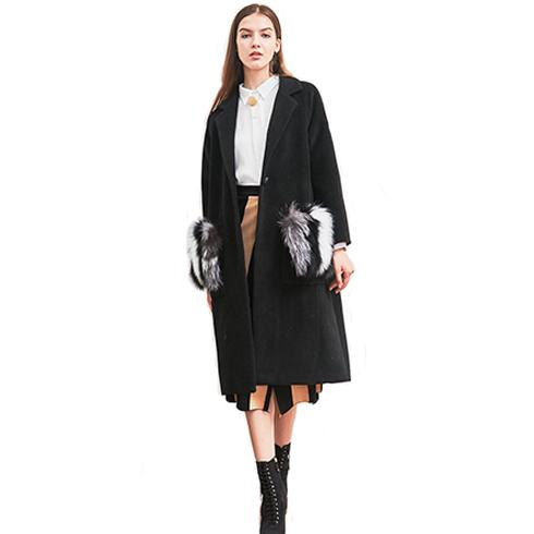 艾丽哲女装-秋冬气质外套包臀裙套装