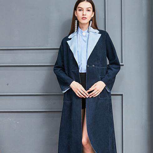 艾丽哲女装-秋冬外套高端套装