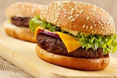 山鸡哥-牛肉汉堡