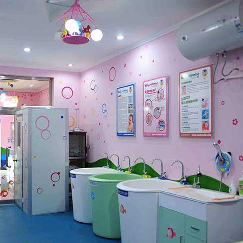 熊猫baby泳疗中心-幼儿洗澡间