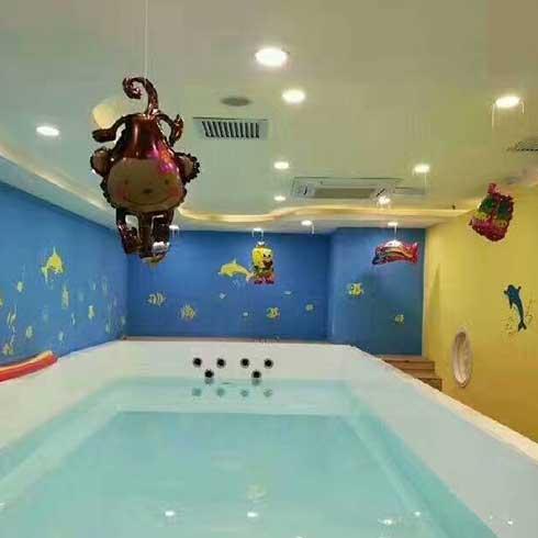 熊猫baby泳疗中心-大型儿童游泳池