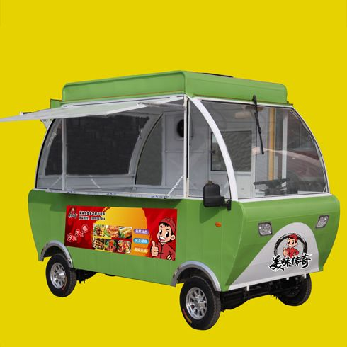 美味传奇小吃车-灯笼餐车