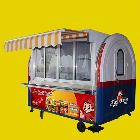 美味传奇小吃车-拱形餐车