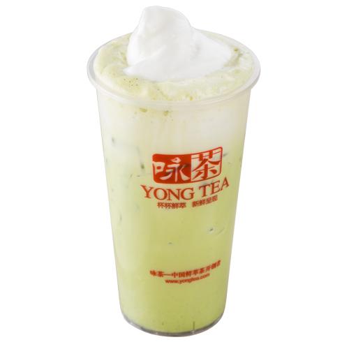 咏茶饮品产品-抹茶鲜奶欧芭蕾