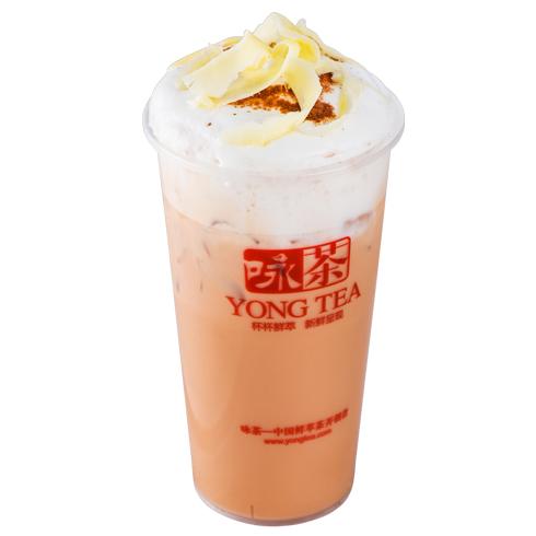 咏茶饮品产品-香草阿里山冰茶玛琪朵