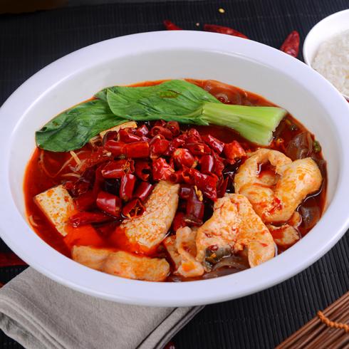 渔遇上鱼藤椒鱼饭-香辣鱼饭