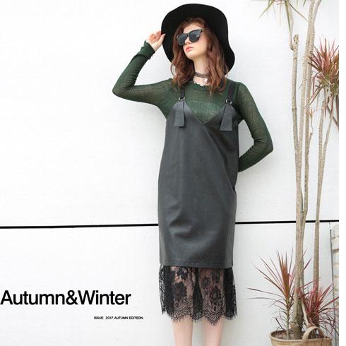 欧米媞女装-时尚吊带裙