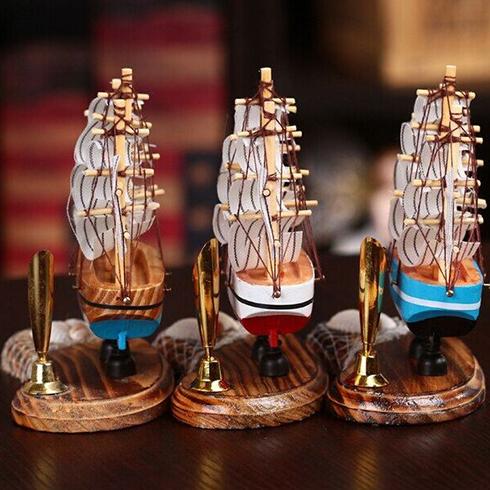 潮流攻势创意空间-创意帆船装饰品