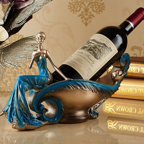 潮流攻势创意空间-红酒酒架