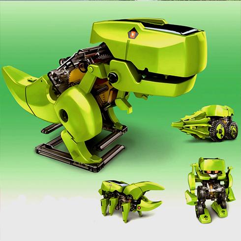 潮流攻势创意空间-恐龙变形玩具