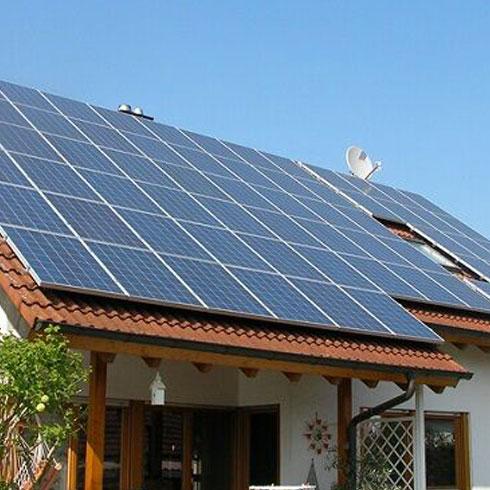酷米阳光太阳能-屋顶安装