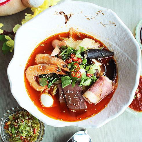 簋鱼锅钵钵鱼快餐-麻辣冒菜