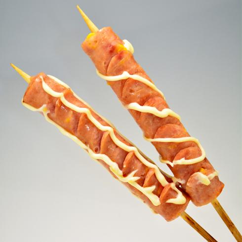 香肠派对香肠小吃-墨西哥玉米肠
