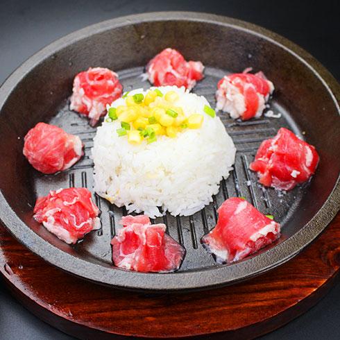 串串婆婆涮烤潮店-铁板饭