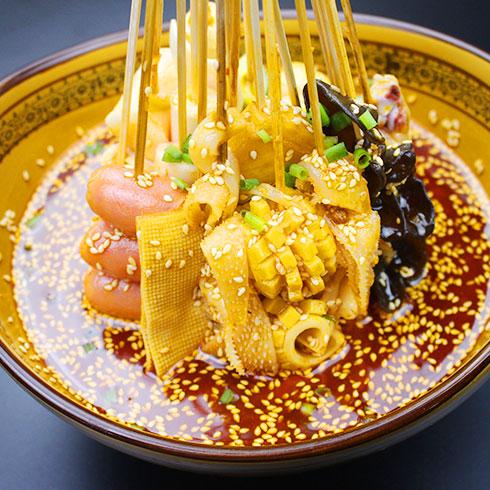 串串婆婆涮烤潮店-冷锅麻辣烫