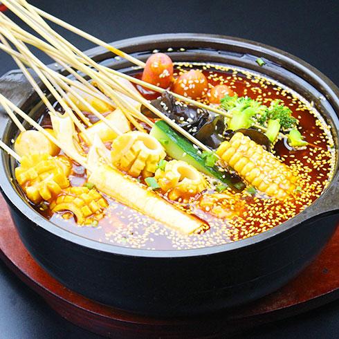 串串婆婆涮烤潮店-冷锅串串香