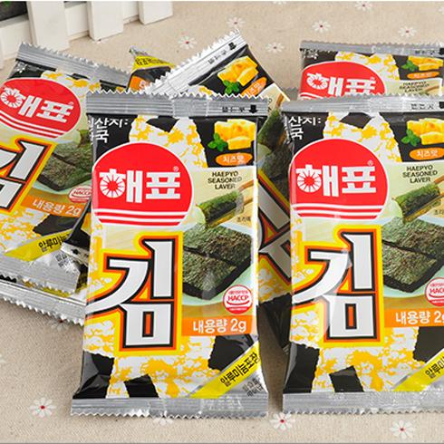 海沃全球购进口超市-韩国海牌奶酪味海苔
