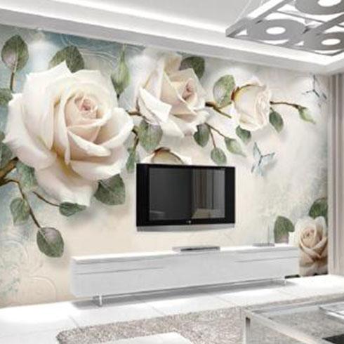金地美集成墙板-纯立体背景墙
