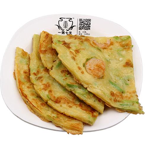 一粥七天养生粥-西葫芦虾仁饼