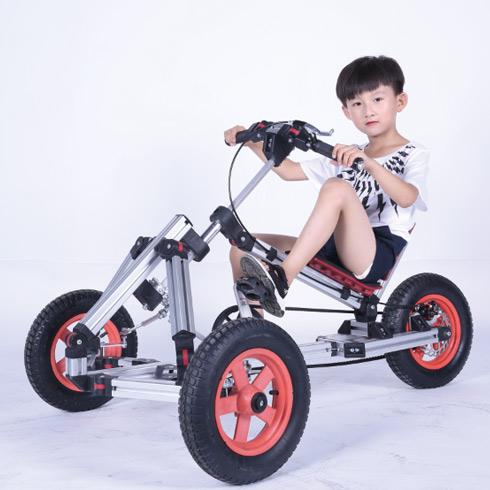 魔法贝贝百变童车-卧式卡丁车