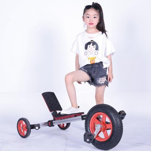 魔法贝贝百变童车-卧式脚踏车