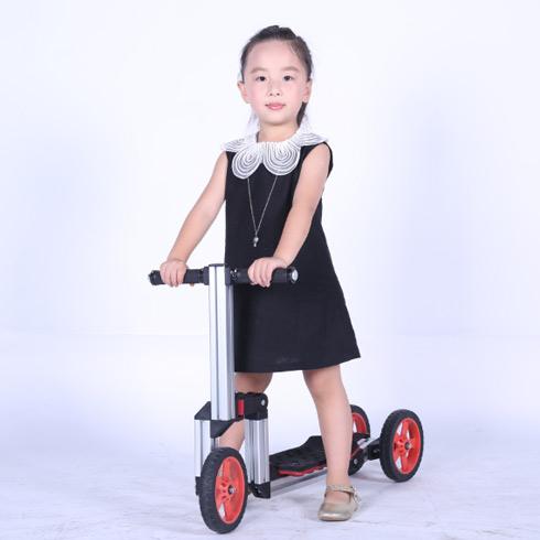 魔法贝贝百变童车-三轮滑板车
