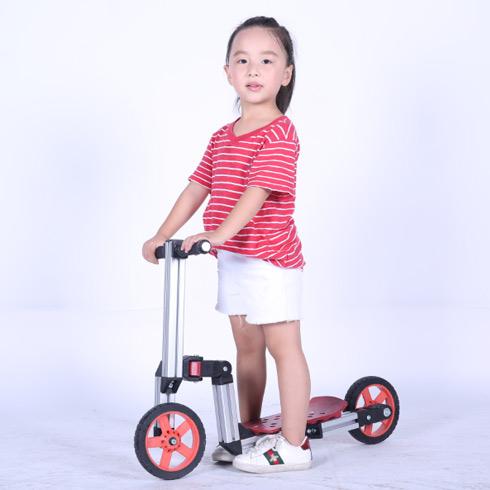 魔法贝贝百变童车-两轮滑板车