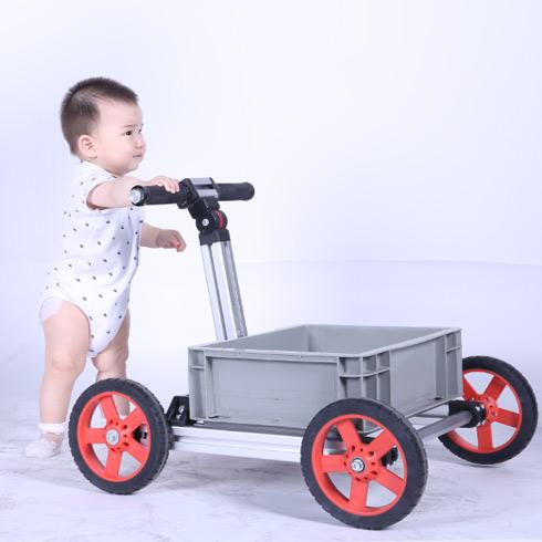 魔法贝贝百变童车-四轮学步车