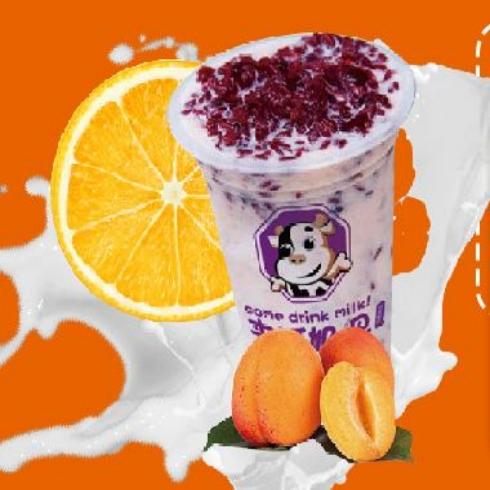 来呵-紫薯酸奶