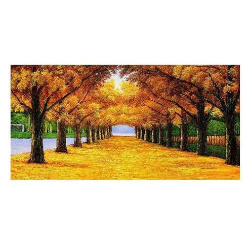 碳晶电暖画-黄金树
