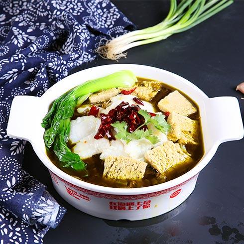 渔遇上鱼藤椒鱼饭-酸菜鱼饭