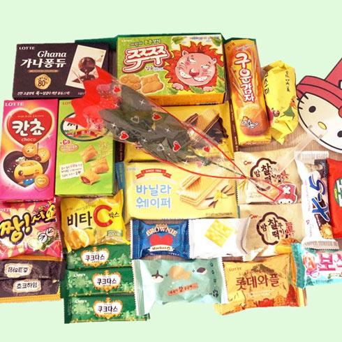 潮尚优品-韩式休闲小零食