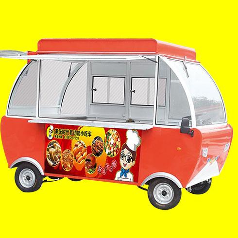 美味时代小吃车-电动餐车