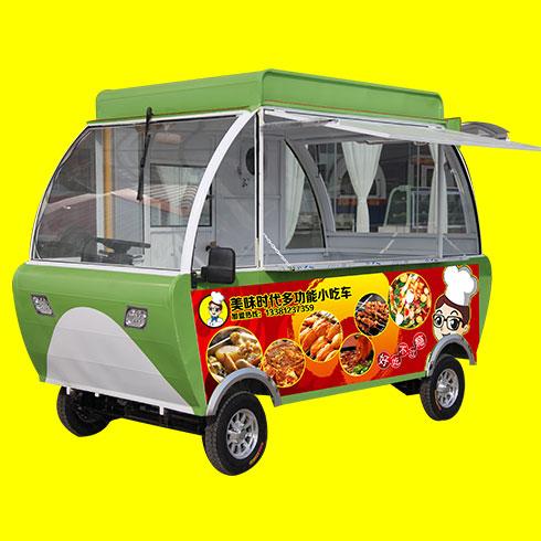 美味时代小吃车-灯笼餐车
