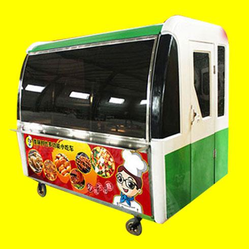 美味时代小吃车-街景餐车