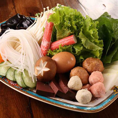 辣小缘涮烤吧-新鲜火锅配菜