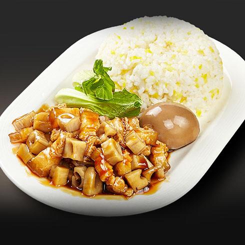 街吧小吃-台式卤肉饭