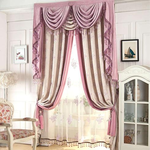梦莱幔窗帘-甜美风格窗帘