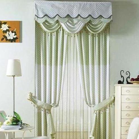 梦莱幔窗帘-温馨风格窗帘