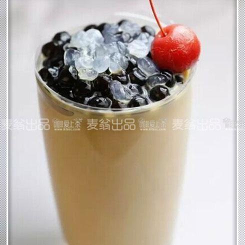 咖啡爱上茶饮品-珍珠奶茶