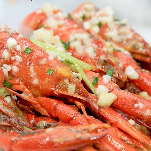 海错岛蓝魔龙虾-蒜香小龙虾