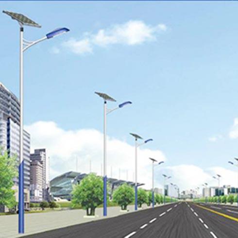 睿晶光伏太阳能发电-光伏太阳能路灯