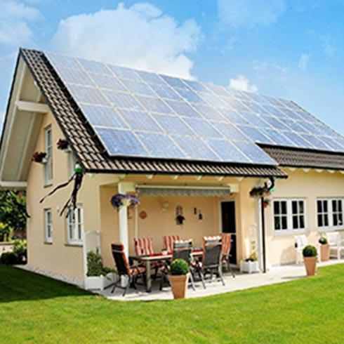 睿晶光伏太阳能发电-光伏真空供暖