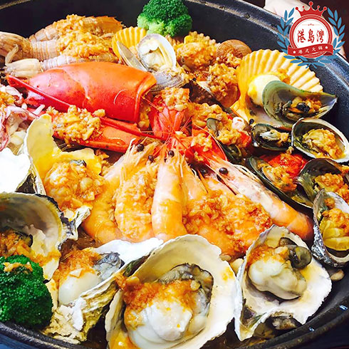 港岛湾港式火锅-深海鲜虾浓汤锅