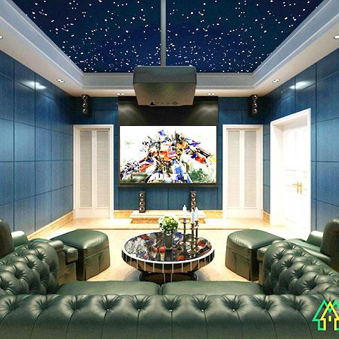 玛肯波罗集成墙饰-星空天花板